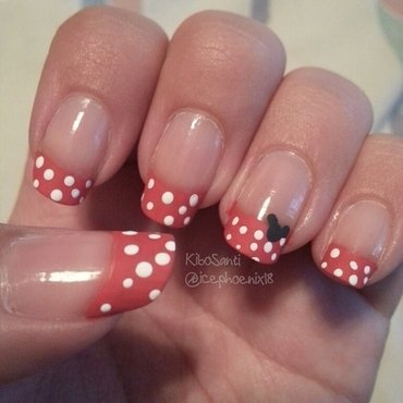 September challenge day 4 Disney Inspired  nail art by KiboSanti