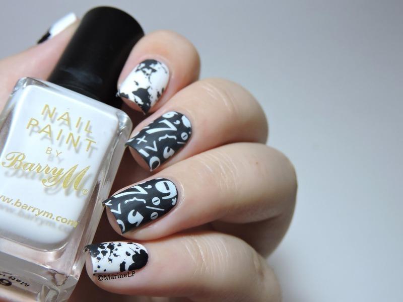 Back to school! nail art by Marine Loves Polish