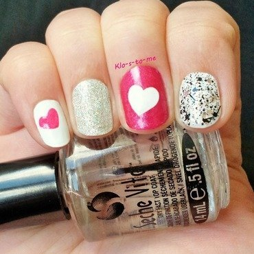 Nail heart nail art by klo-s-to-me