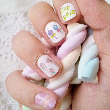I want candies ! nail art by klo-s-to-me
