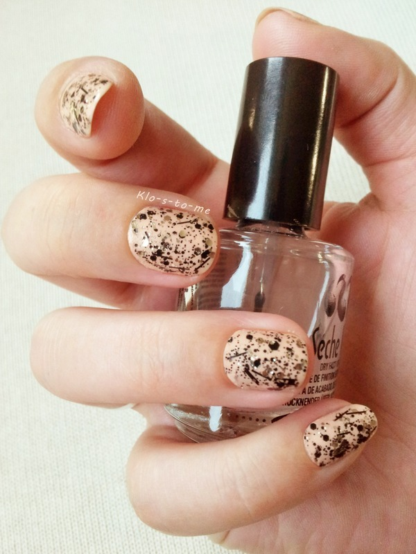 Razzle Pink nail art by klo-s-to-me