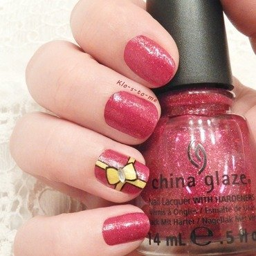 I want presents for Christmas nail art by klo-s-to-me