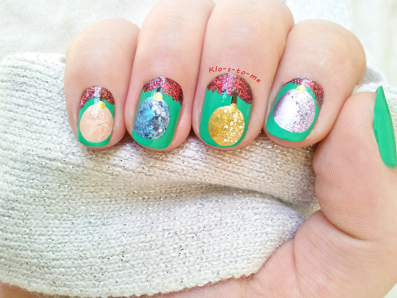 Merry Christmas nail art by klo-s-to-me