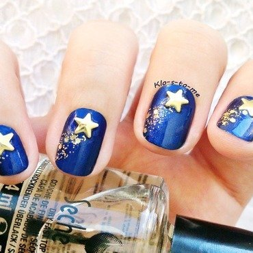 Make A Wish nail art by klo-s-to-me