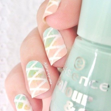 Pastel Nails nail art by klo-s-to-me