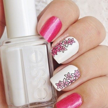 Summer Flowers nail art by klo-s-to-me