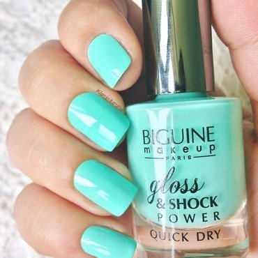 Biguine Menthe Glacée n°23505 Swatch by klo-s-to-me
