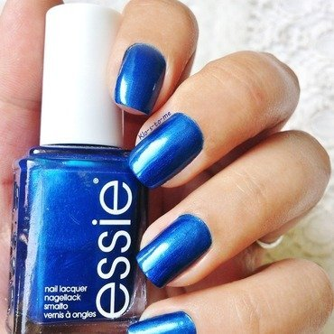 Essie Aruba Blue Swatch by klo-s-to-me