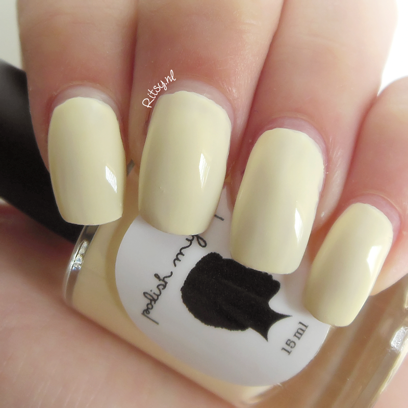 Polish My Life Rays of Sun Swatch by Ritsy NL
