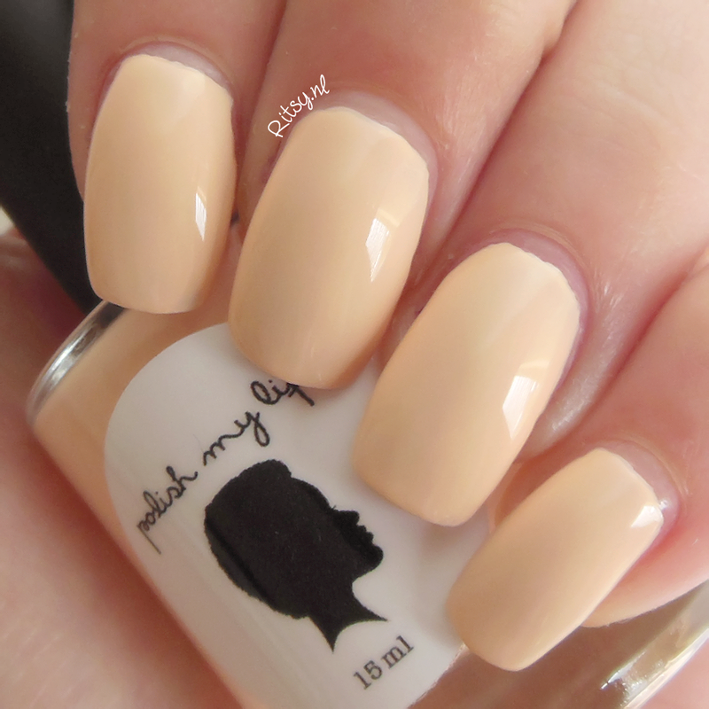 Polish My Life Peaches Anyone? Swatch by Ritsy NL
