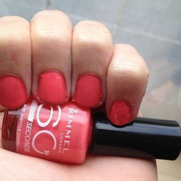 Rimmel London Instyle coral Swatch by LoreV