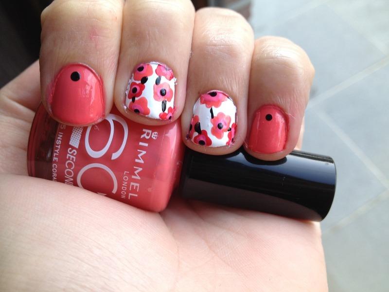 Marimekko nail art by LoreV