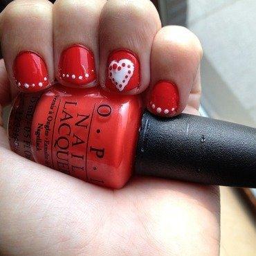 Love nail art by LoreV