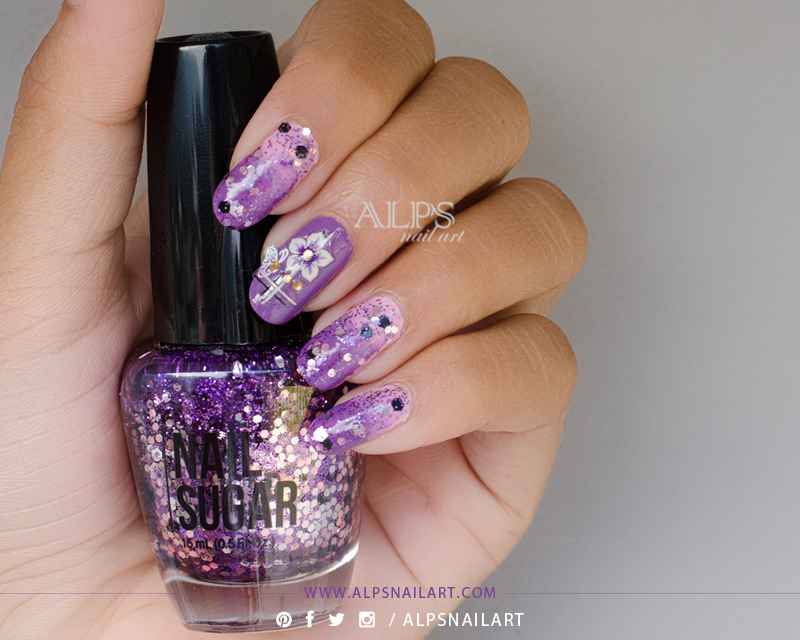 Cinapro Nail Sugar Rock Candy Swatch by Alpsnailart