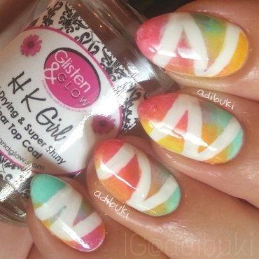 Catching Zees nail art by Adi Buki