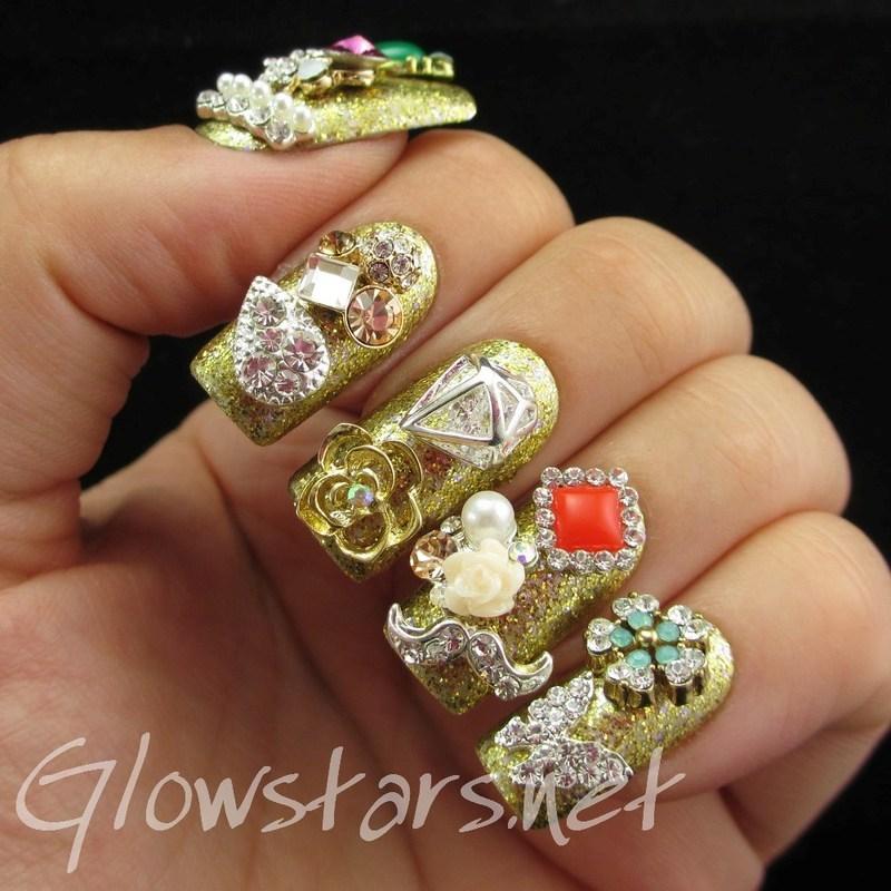 Featuring Born Pretty Store Nail Art Decoration Wheel nail art by Vic 'Glowstars' Pires