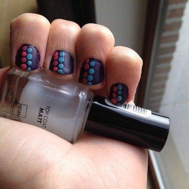 dots nail art by LoreV