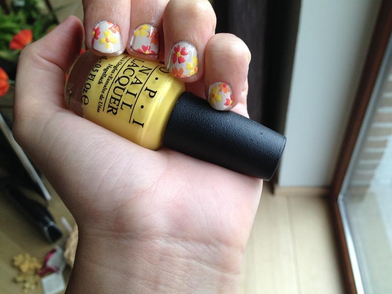 summer nail art by LoreV