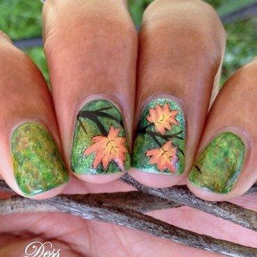 Fall nail art by Dess_sure