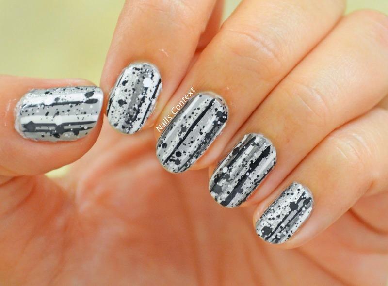 Glitter Nail Art nail art by NailsContext