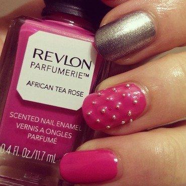 Pink Caviar  nail art by Steph
