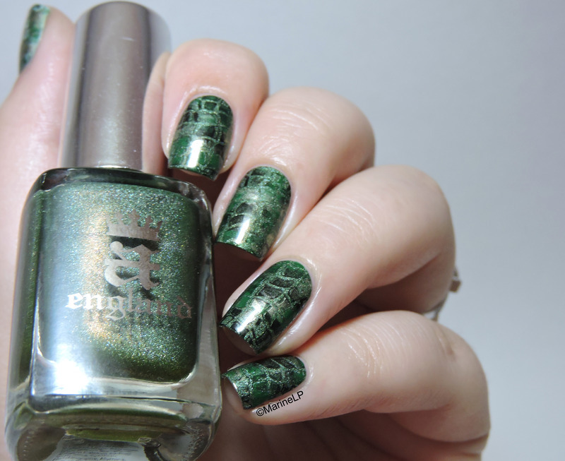 I'm a dragon! nail art by Marine Loves Polish