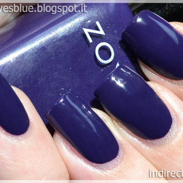 Zoya Pinta Swatch by MiseryLovesBlue