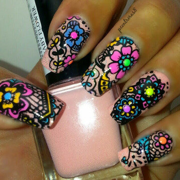 Flower Fun! nail art by pcontreras8nails