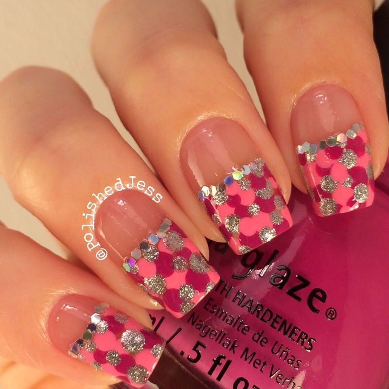 31dc2014 - Polka Dots - Day Eleven nail art by PolishedJess