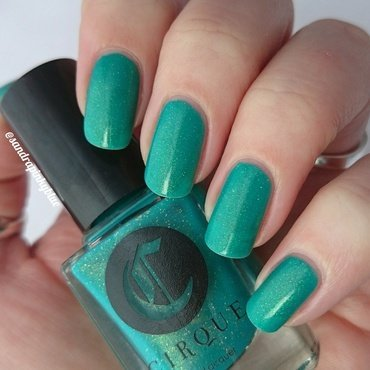 Cirque Thicker Than Water Swatch by Pinkyblue Nailart