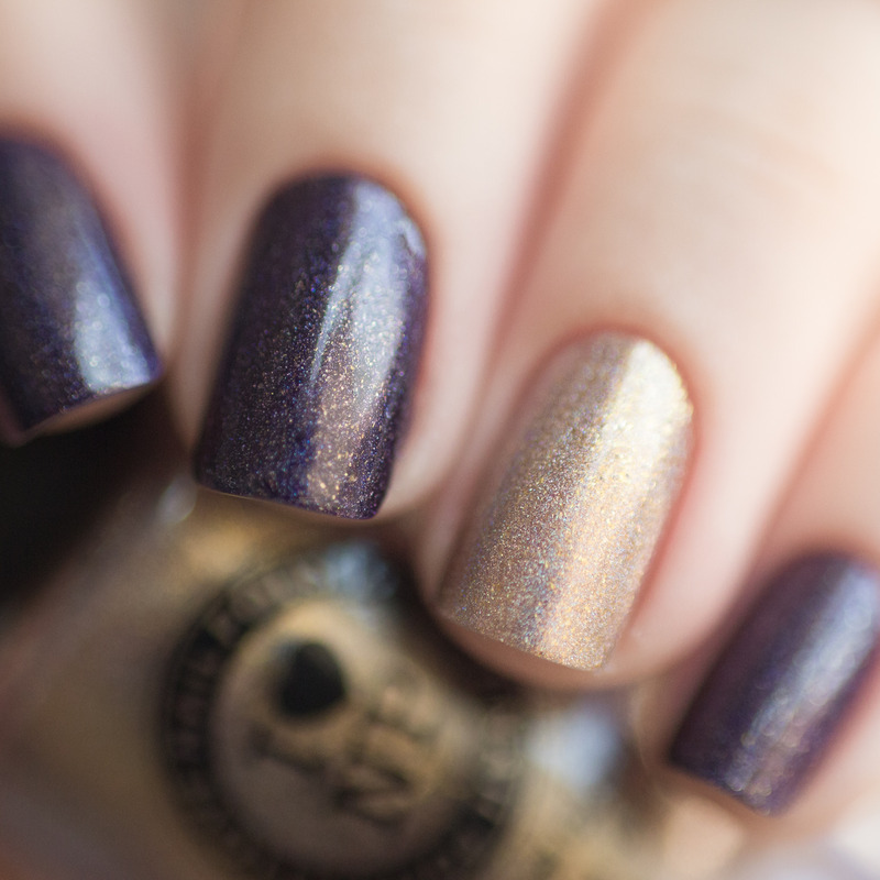 ILNP Homecoming and ILNP Iconic Swatch by Treviginti