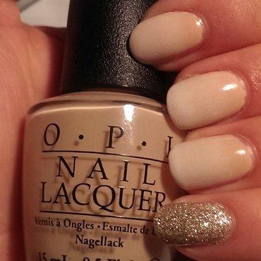 Nuetral Ombré nail art by Steph