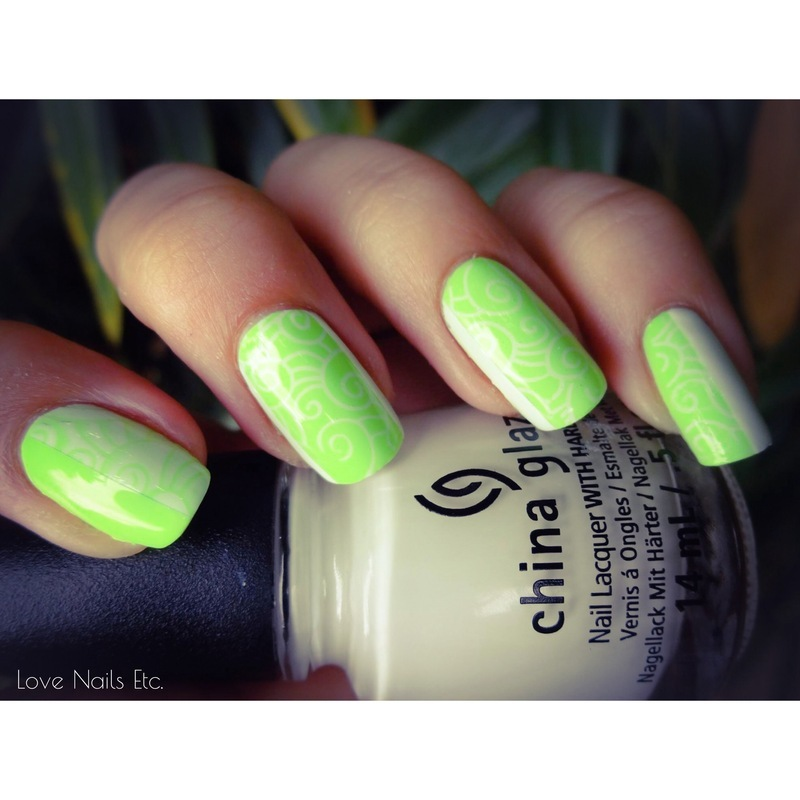 Summer Wind nail art by Love Nails Etc