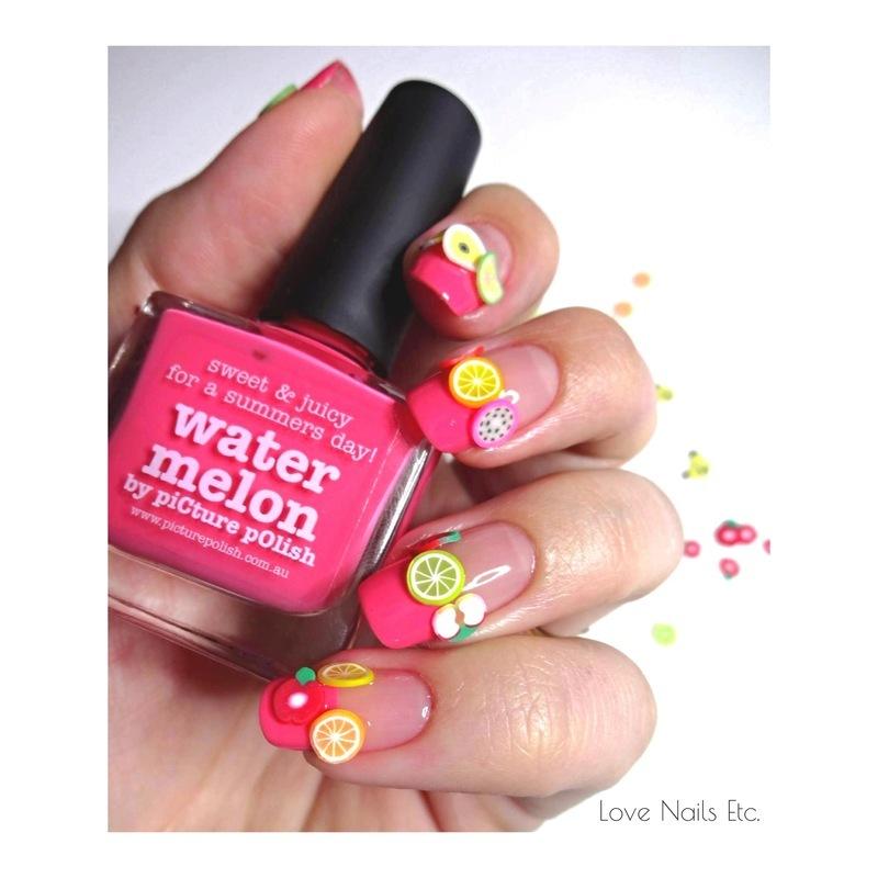 Salad Mix  nail art by Love Nails Etc