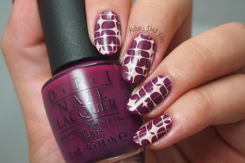 Pueen stamping nail art by kelsie nailpolis museum of nail art pueen stamping nail art by kelsie prinsesfo Choice Image