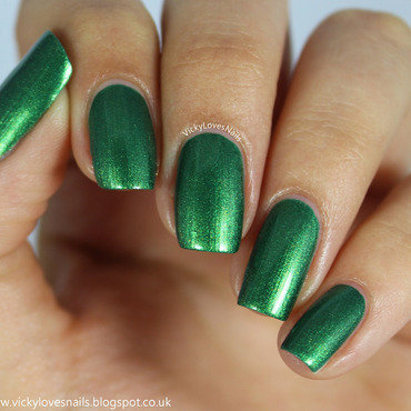 Rimmel camouflage Swatch by Vicky Standage