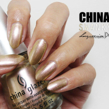 China Glaze Swanky Silk Swatch by Lacqueerisa