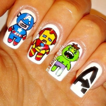 marvel Nail Art and Swatches  Nailpolis: Museum of Nail Art