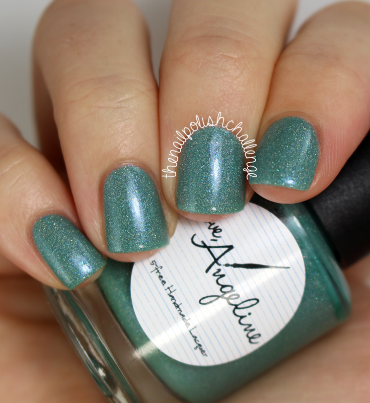 Love, Angeline Turquoise Chemise Swatch by Kelli Dobrin