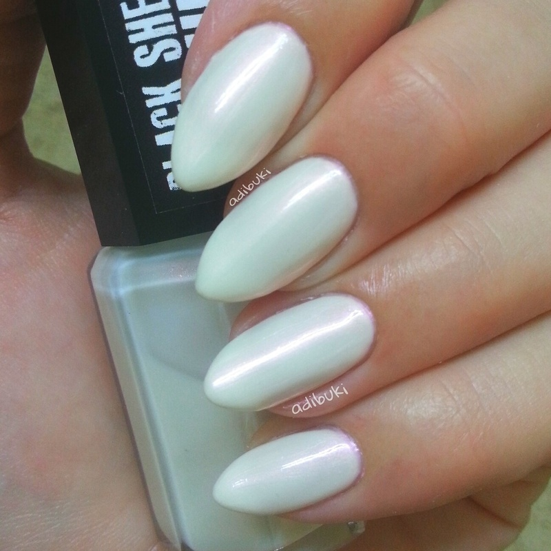 Black Sheep Lacquer You're Up Pearly Swatch by Adi Buki
