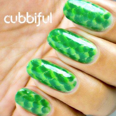 31DC2014 - Day 13: Animal Print  nail art by Cubbiful