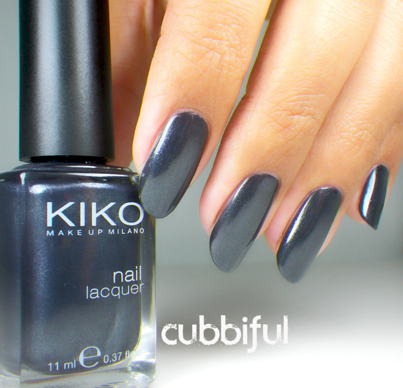 Kiko Metallic Stone (No.516) Swatch by Cubbiful - Nailpolis: Museum ...