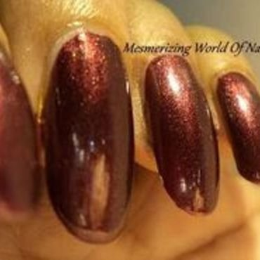 Revlon Autumn Berry Swatch by Anubhooti Khanna