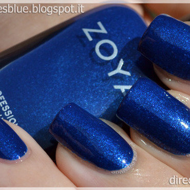 Zoya Song Swatch by MiseryLovesBlue