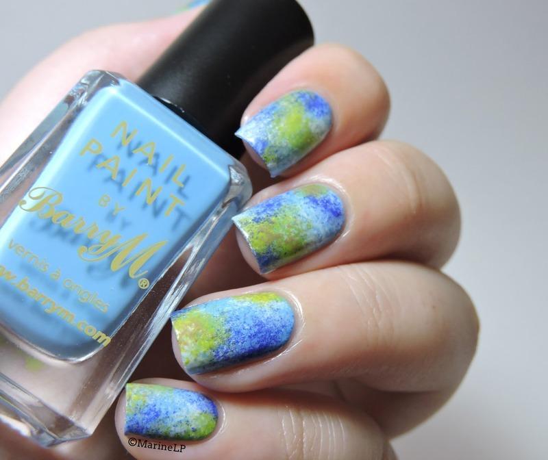 Earth nails  nail art by Marine Loves Polish