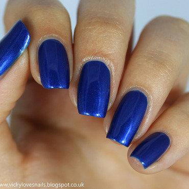 Essie Aruba Blue Swatch by Vicky Standage