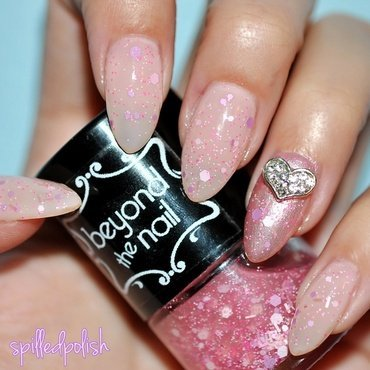 Pink Overload nail art by Maddy S