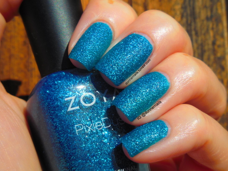 Zoya Liberty Swatch by Donner