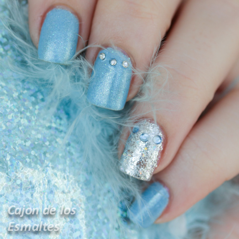 Cinderella - Happy Ending collection by Etude House nail art by Cajon de  los esmaltes - Cinderella - Happy Ending Collection By Etude House Nail Art By