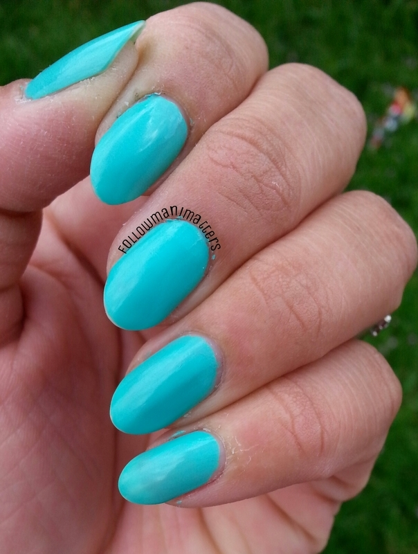 Models Own Hypergel Turquoise Gloss Swatch by Manisha Manimatters